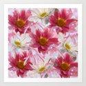Spring Floral Explosion Art Print