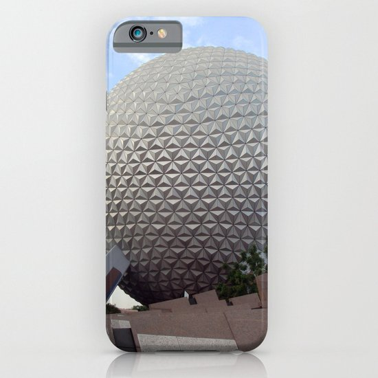 Spaceship Earth iPhone & iPod Case