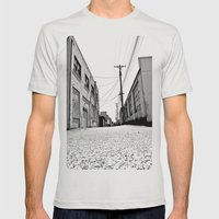South Tacoma Alley Mens Fitted Tee Silver SMALL