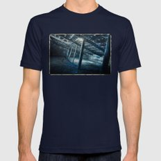 Cold Stretch Mens Fitted Tee Navy SMALL