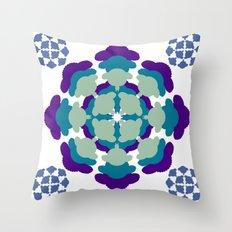 Mantra Sheep - 1 Throw Pillow