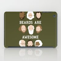 Beards Are Awesome iPad Case