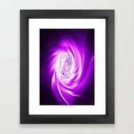 Framed Art Print featuring Space And Time 8  Erotic by Walter Zettl