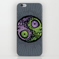 Zombie Yin-Yang iPhone & iPod Skin