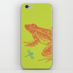 Frog vs. Dragonfly iPhone & iPod Skin