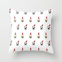 Gnome Love Throw Pillow