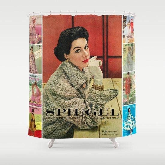 1953 Fall/Winter Catalog Shower Curtain