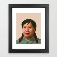 Auntie Mao Mao Framed Art Print