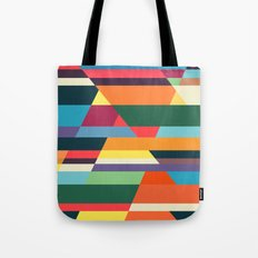 The hills run to infinity Tote Bag