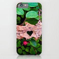 GREEN LEAVES HEART iPhone 6 Slim Case