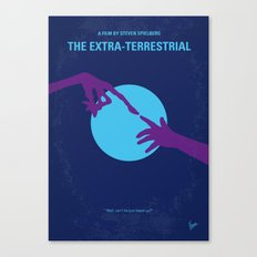 No282 My ET minimal movie poster Canvas Print
