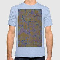 Pastel Map Mens Fitted Tee Athletic Blue SMALL