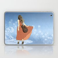 Guitar Girl Laptop & iPad Skin