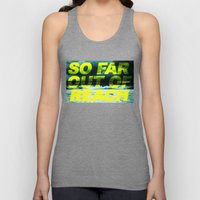 SO FAR OUT OF REACH (Psalm 143) Unisex Tank Top