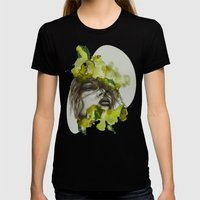 Zoe By Carographic, Caro… Womens Fitted Tee Black SMALL