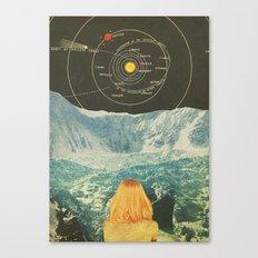 Orbitando  Canvas Print