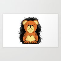 Angrier Ted Art Print