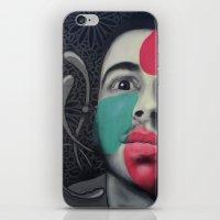 Colour Pressure autorretrato iPhone & iPod Skin