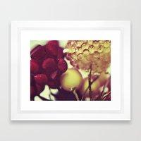 :: berries :: Framed Art Print