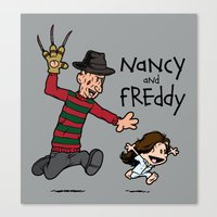 Nancy and Freddy Canvas Print