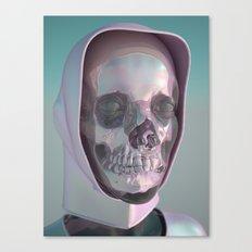 Cyber Skullface Canvas Print