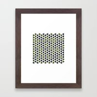 #458 Trap – Geometry Daily Framed Art Print