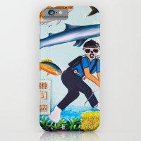 Deep Sea Fishing iPhone 6 Slim Case