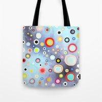 Nebulous Blue Abstract C… Tote Bag