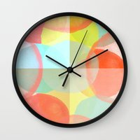 Marshmallows Wall Clock