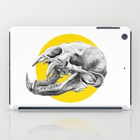 Bear Skull iPad Case