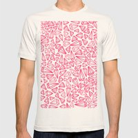 Shine Bright Mens Fitted Tee Natural SMALL