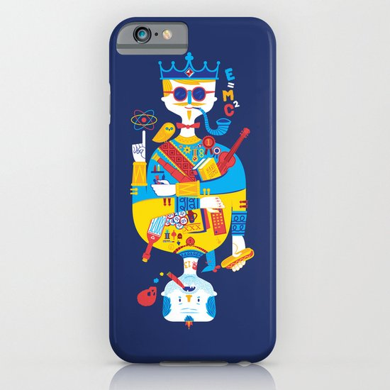 Jack of Smarts (Knave of Slobs) iPhone & iPod Case