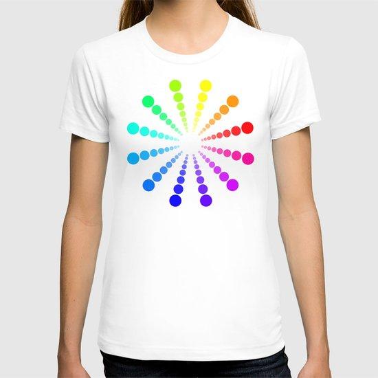 dots & circles o2 T-shirt