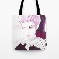 Ethno fashion illustration Tote Bag