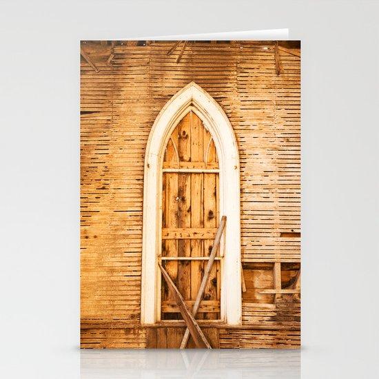Church Window Stationery Card