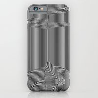 iPhone & iPod Case featuring Black and White Landscape by Horus Vacui
