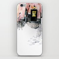 Winter street iPhone & iPod Skin