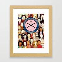 Greendale Human Beings Framed Art Print