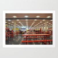 The State Fair of Texas Food Court Art Print