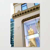 New York Reflection Canvas Print