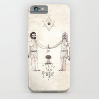 iPhone & iPod Case featuring Tarot: VI - The Lovers by Jæn ∞