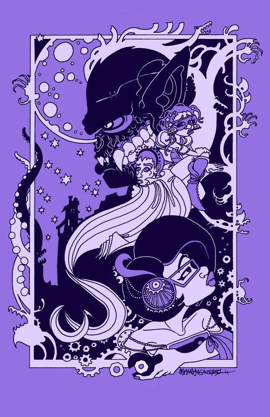 Horror Nouveau Art Print