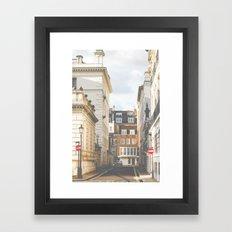 Vintage London Framed Art Print