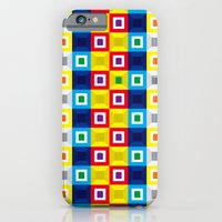 iPhone & iPod Case featuring Squares Pattern by Fabian Gonzalez