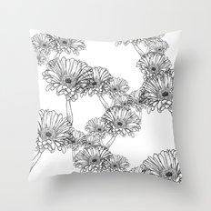 Flower One Throw Pillow