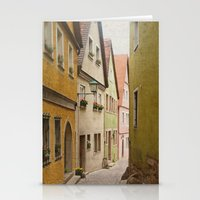 Italian Alley - Bright Colors Stationery Cards