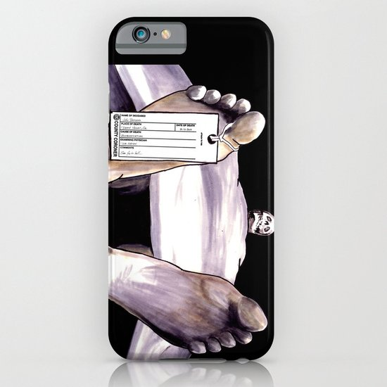 Toe Tag iPhone & iPod Case