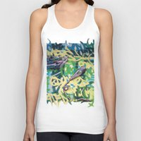 Turntables And A Mic (or… Unisex Tank Top