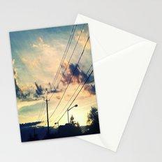 Petworth at Sunset (Washington, DC) Stationery Cards