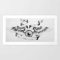 Eye Fly Art Print